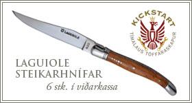 Laguiole Steikarhnífar